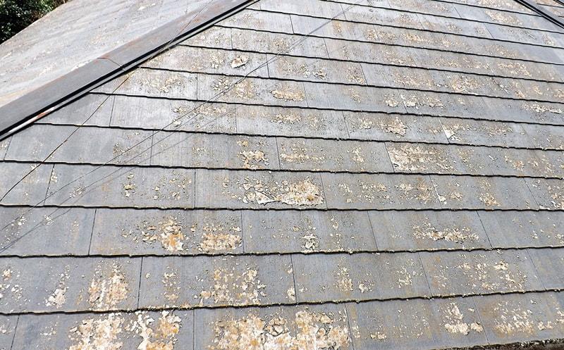 コロニアル屋根葺き替え